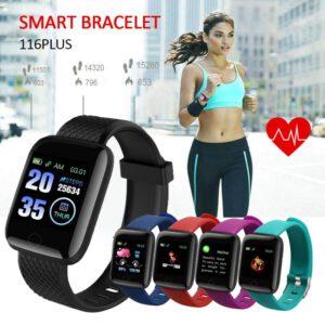 Smart Watch Men Women Smartband Blood Heart Rate Blood Pressure Monitoring Fitness Tracker Safe IP67 Waterproof Smart Bracelet