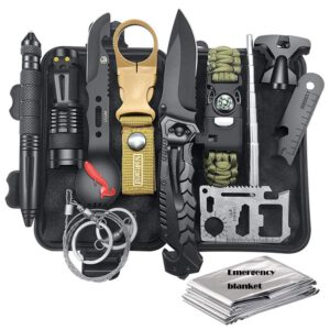 Outdoor emergency survival kit multifunctional camping adventure equipment H7 survival kit SOS emergency supplies