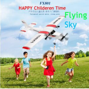 DIY RC Plane Toy Remote Control Glider FX-801 Rc Airplane Cessna 182 DIY EPP Craft Foam Electric Outdoor Fixed Wing Aircraft