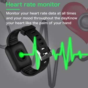 For VIP Dropshipping D13 smart watch women men 2020 Heart Rate smartwatch Sports Watches 116 Plus Band Waterproof Android
