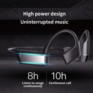 K08 Wireless Headset Bluetooth 5.0 Bone Conduction Headset Wireless Outdoor Sports Hands-free Headset Will Not Damage The Ear