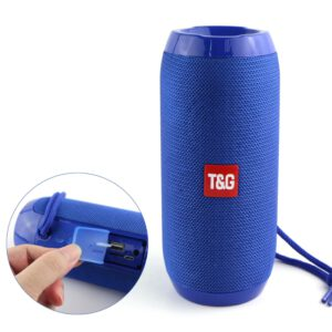 Portable Bluetooth Speaker Wireless Bass Column Waterproof Outdoor USB Speakers Support AUX TF Subwoofer Loudspeaker TG117