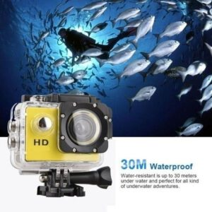 Sport Action Camera Outdoor 30M Waterproof 720P/1080P HD Mini Underwater Cameras Video Recording Helmet Extreme Professional Cam