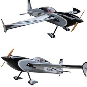 Balsa Wood RC Airplane 78in/1981.2mm Grey Color Slick 3D Gas 7channels 35CC-45CC Plane ARF Model