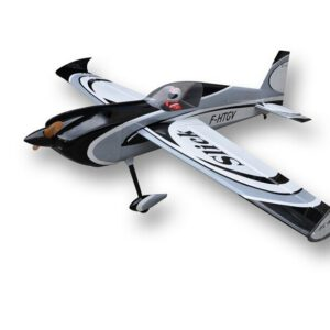 Balsa Wood RC Airplane 78in/1981.2mm Grey Color Slick 3D Gas 7channels 35CC-45CC Plane ARF Model
