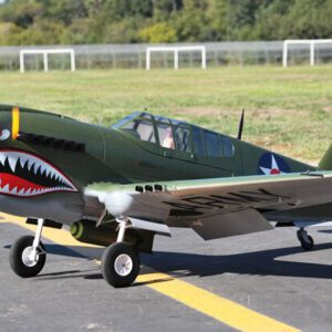 LX P40 2M Wingspan Warhawk Green Painting Airplane RC Model KIT /PNP/RTF