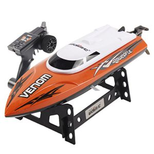 Parkten Recommend UDI001 2.4G 4CH Remote Control RC Boat Speedboat children's toy water speed boat summer toys