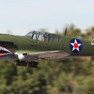 LX P40 2M Wingspan Warhawk Green Painting Airplane RC Model KIT /PNP/RTF