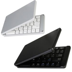 wireless folding Bluetooth keyboard Light and Handy Bluetooth 3.0 Folding Keyboard Foldable BT Wireless Keypad for phone laptop