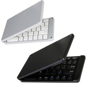 wireless folding Bluetooth keyboard Light and Handy Bluetooth 3.0 Folding Keyboard Foldable BT Wireless Keypad for phone laptop