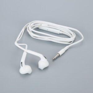 New 3.5mm Wired Sport Earphone High Quality Stereo Headset Bass Earbuds Gym In-ear With Mic For Samsung Huawei Xiaomi