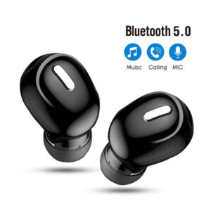 5.0 Mini Wireless Bluetooth Earphone Sport Gaming Headset with Mic Handsfree Headphone Stereo Earbuds For Iphone For Samsung