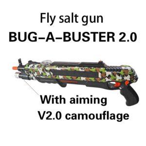 Pistola de sal Bug A Salt 2.0 & 3.0 Gun Salt Pepper Bullets Blaster Airsoft for Bug Blow Gun Mosquito Model Toy Gun Xmas Gift