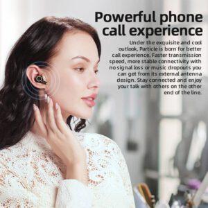 Bluedio Particle wireless earphone bluetooth 5.0 waterproof earbuds wireless sport tws headset with charging box
