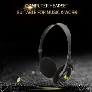 Gaming Headphones Bluetooth V4.1 Headset Wireless Headphones Hands-free Call Earphone With Mic For Call Center Office Skype