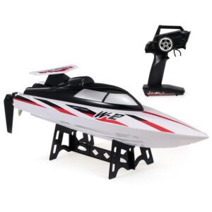 WLtoys WL912-A 35KM/H RC Boat 2.4G Radio-Controlled Speedboat Capsize Protection Outdoor Motor RC Racing Boat Ship Toy for Kids