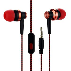 3.5 mm In-Ear Stereo headphone Cool Color Knitting Thread Fashion headphones High Quality