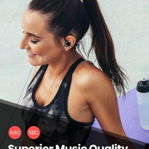 TWS Earbuds Wireless Bluetooth 5.0 Earphones Sport Buds Headphones 3D Stereo Sound Earphone with Mic Running waterproof Earbuds