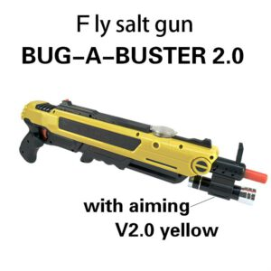 Pistola de sal Creative bug a salt Gun Salt Pepper Bullets Blaster Airsoft for Bug Blow Gun Mosquito Model Toy GunChristmas gift